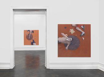 Exhibition view: Thomas Eggerer, Asphalt, Galerie Buchholz, Berlin (27 November 2018–26 January 2019). Courtesy Galerie Buchholz.