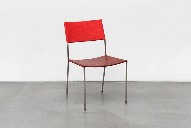 Künstlerstuhl (Artist's Chair) by Franz West contemporary artwork