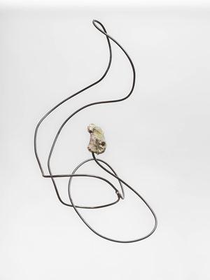 Stenarna har långa trådar by Carin Ellberg contemporary artwork