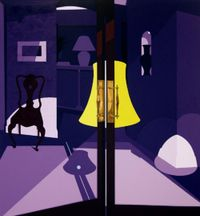 Bishops by Patrick Caulfield contemporary artwork painting