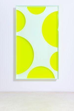 colormirror mesh 02 by Regine Schumann contemporary artwork