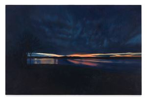 Blue Horizon by April Gornik contemporary artwork