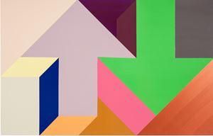 Arrow Painting 02 by Tony Tasset contemporary artwork