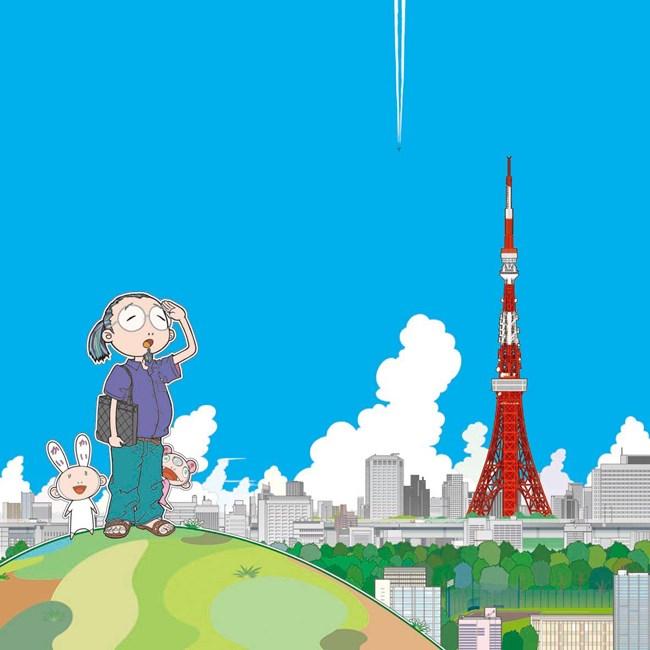 Tokyo Tower* by Takashi Murakami contemporary artwork