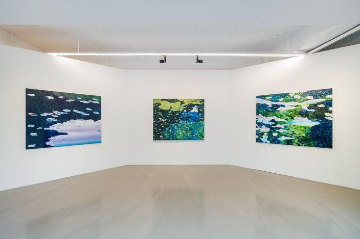 Bin Woo Hyuk, Sanctuary 100 (2021). Oil on linen, 130 x 160 cm. Courtesy the Artist and Gallery Baton.
