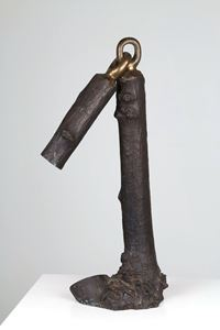 Phase of Nohingness - stumpage by Sekine Nobuo contemporary artwork sculpture