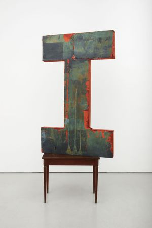 I by Brenna Youngblood contemporary artwork sculpture
