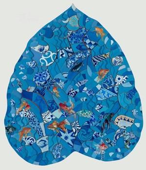 Golden Fish by Adriana Varejão contemporary artwork