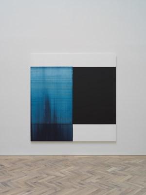 Paris Blue by Callum Innes contemporary artwork
