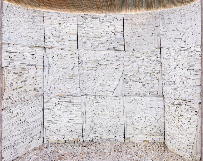 Destroyed House Arles 1 by Marjan Teeuwen contemporary artwork
