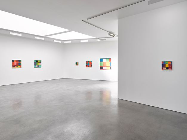Exhibition view: Stanley Whitney, Afternoon Paintings, Lisson Gallery, Lisson Street, London (2 October–2 November 2019). Courtesy Lisson Gallery.