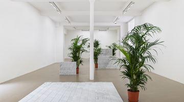 Contemporary art exhibition, Rirkrit Tiravanija, untitled 2020 (once upon a time) (after jasper johns) at Galerie Chantal Crousel, Paris