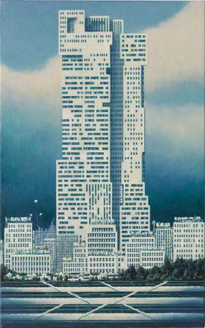 Blue City by Minoru Nomata contemporary artwork