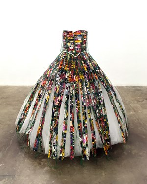 Mourning Dress by Hunter Reynolds contemporary artwork