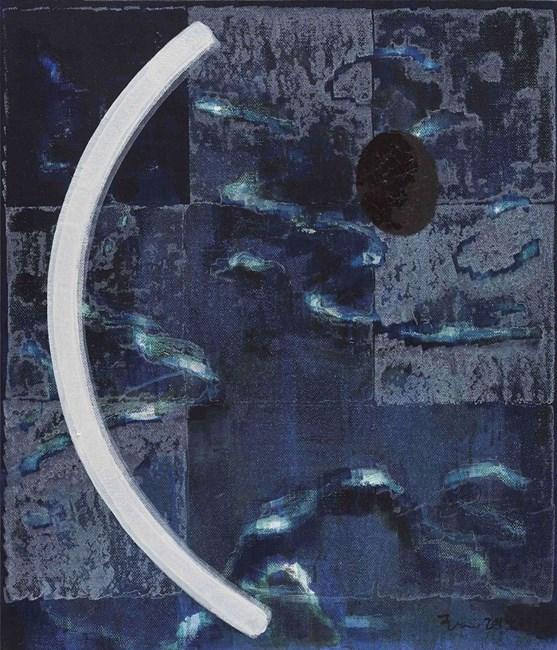 Untitled (Look Down) by Wang Jun contemporary artwork