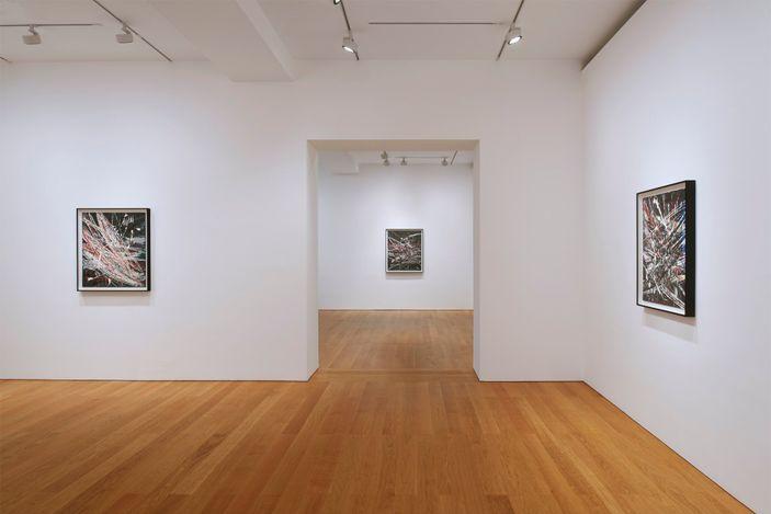 Exhibition view: Mark Grotjahn, Horizontals, Gagosian, Hong Kong (18 May–7 August 2021). Artworks© Mark Grotjahn. Courtesy Gagosian.