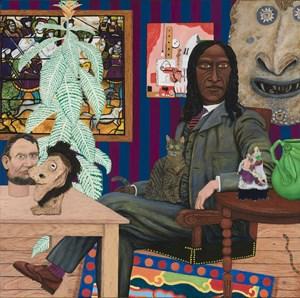 Building Goroka by James Morrison contemporary artwork