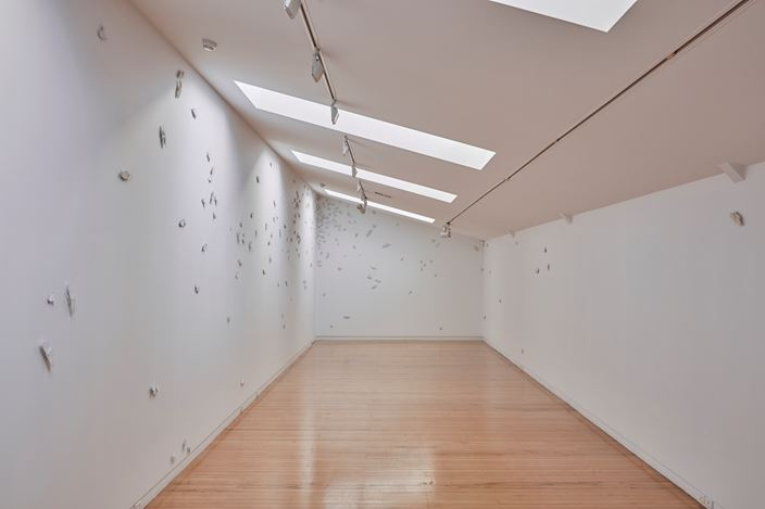 Exhibition view: Elizabeth Thomson, Invitation to openness, Two Rooms, Auckland (14 July–12 August 2017). Courtesy Two Rooms.