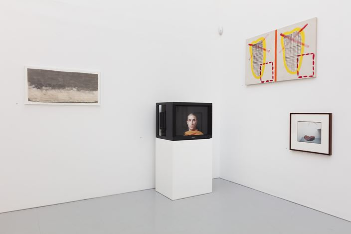 Exhibition view: Group exhibition, Fifteen, Kate MacGarry, London (11 November–16 December 2017). Courtesy Kate MacGarry.
