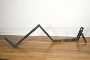 Reclining Obelisk by Bob Law contemporary artwork