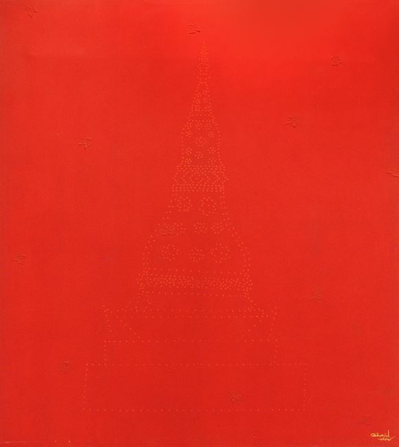 Red Chedi by Sakarin Krue-On contemporary artwork