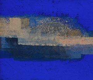 IN BLUE Oct '20 (A) by Katsuyoshi Inokuma contemporary artwork painting