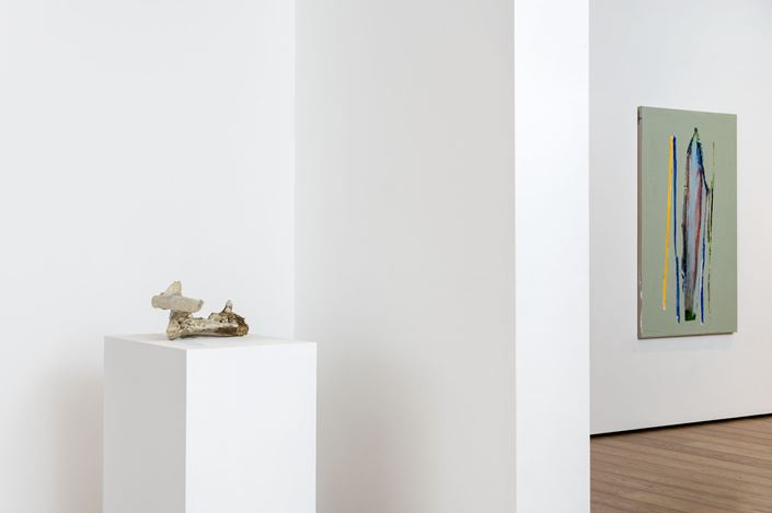 Exhibition view: Erik Lindman, Parsifal, Almine Rech, London (27 November 2019–18 January 2020). Courtesy the Artist and Almine Rech.