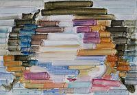 Rainbow 2021-1 by Etsu Egami contemporary artwork painting