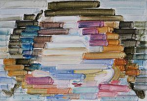 Rainbow 2021-1 by Etsu Egami contemporary artwork