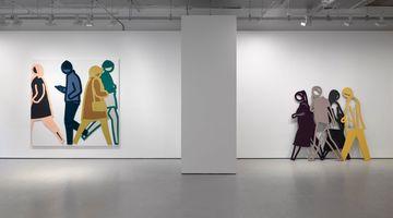 Contemporary art exhibition, Julian Opie, Julian Opie at Lisson Gallery, Cork Street, London, United Kingdom