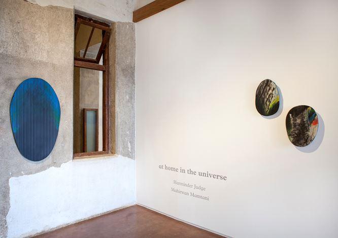 Exhibition view: Harminder Judge andMahirwan Mamtani, at home in the universe, Jhaveri Contemporary, Mumbai (20 July–2 September 2019). CourtesyJhaveri Contemporary.