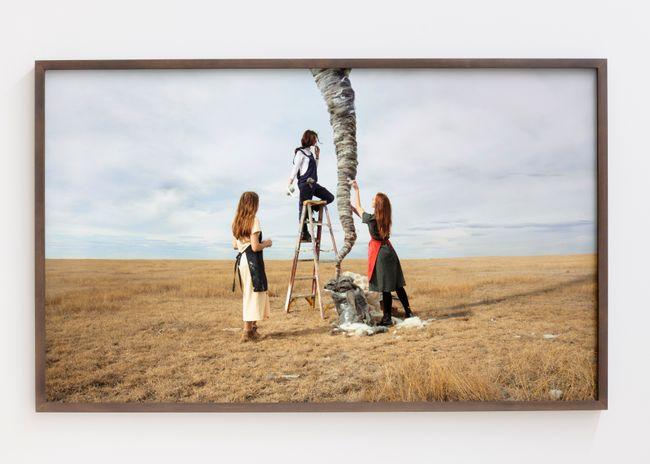 Grassland Tornado by Daniela Edburg contemporary artwork