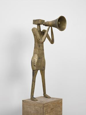 Protester III by Pedro Reyes contemporary artwork