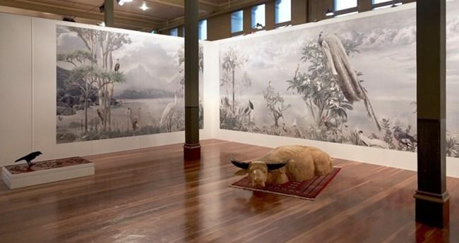 Outland - Installation view by Abdul-Rahman Abdullah & Valerie Sparks contemporary artwork