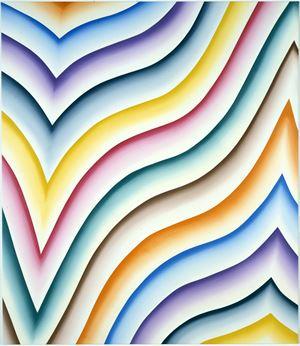 Insulaire j by Bernard Frize contemporary artwork