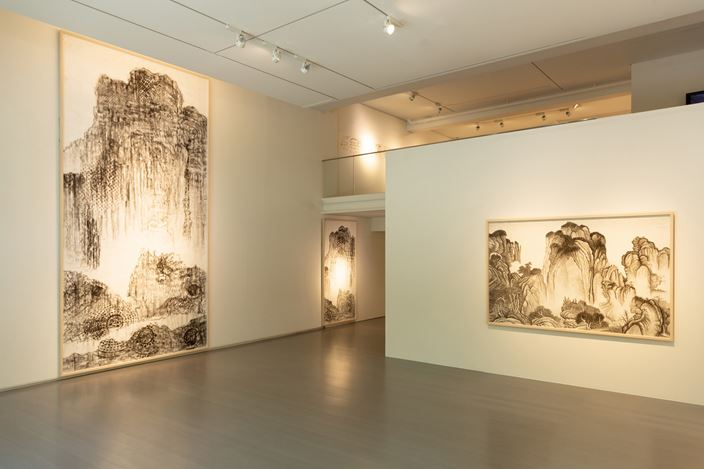 Exhibition view: HAN Hsiang-ning, A Representation of the 1960s/Ink Art, Asia Art Center (3 August–15 September 2019). Courtesy Asia Art Center.