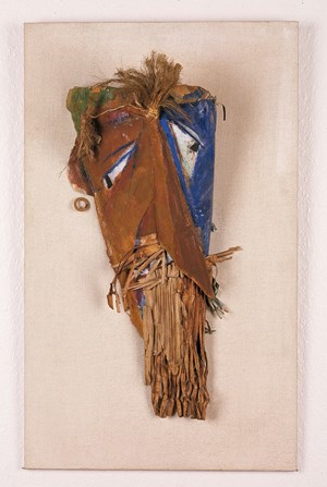 Mask for Firdusi by Marcel Janco contemporary artwork