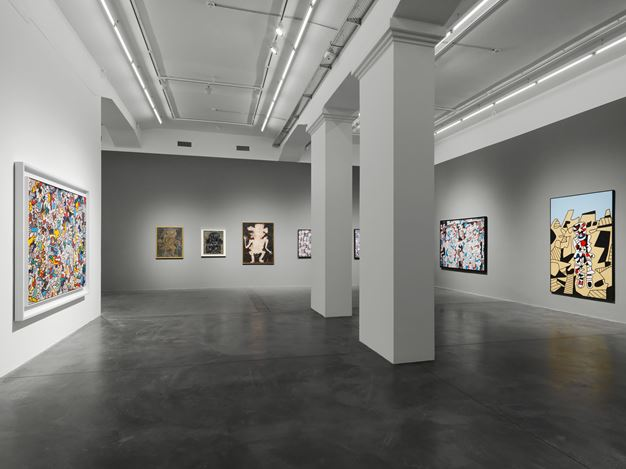 Exhibition view: Jean Dubuffet, Jean Dubuffet and the City, Hauser & Wirth, Zürich (10 June–1 September 2018). Courtesy Hauser & Wirth.