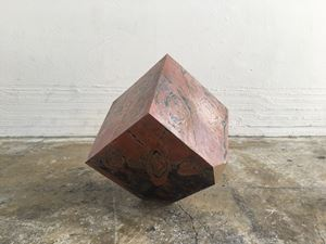 Uncovered Cube #10 by Madara Manji contemporary artwork