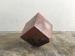Uncovered Cube #10 by Madara Manji contemporary artwork