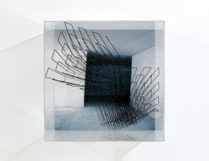 Box plexiglass by Emanuela Fiorelli contemporary artwork