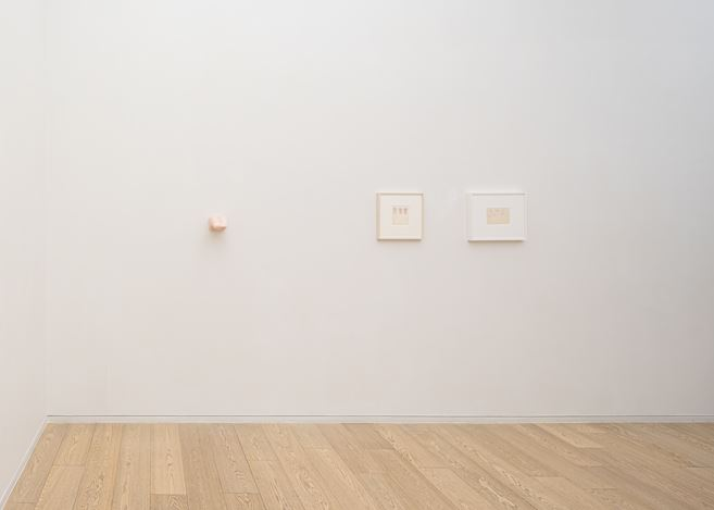 Exhibition view: Group Exhibition, Holly Coulis, Nevine Mahmoud and Christina Ramberg,Simon Lee Gallery, Hong Kong(20 September–5 November 2019). Courtesy Simon Lee Gallery