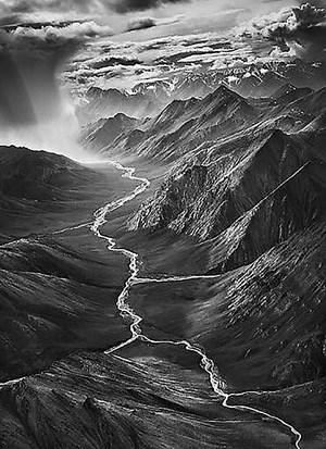 The Eastern Part of the Brooks Ranges, Arctic National Wildlife Refuge, Alaska by Sebastião Salgado contemporary artwork