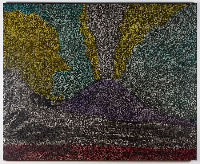 Untitled (VAW3) by Daniel Boyd contemporary artwork