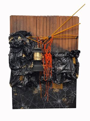 Baggae: Leave Me Better Than You Found Me. by Michi Meko contemporary artwork