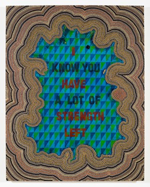 I Have Strength Left by Jeffrey Gibson contemporary artwork
