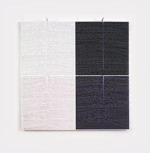 Cuatro valores vibrantes by Jesús Rafael Soto contemporary artwork