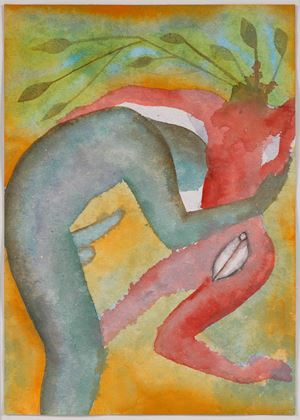 A Story Well Told V by Francesco Clemente contemporary artwork
