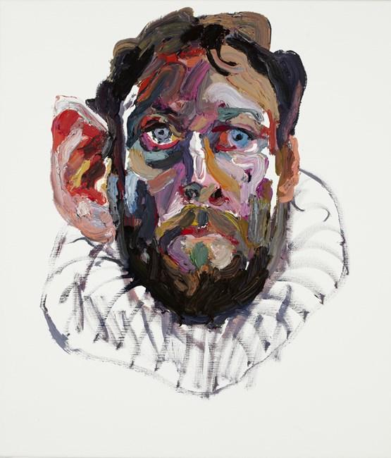 Self Portrait (Ear) by Ben Quilty contemporary artwork