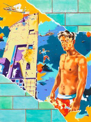 Desescalada by Norbert Bisky contemporary artwork